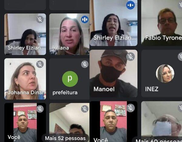 """MPPB 600x470 - Prefeito de Aparecida e lideranças da grande região de Sousa participam de videoconferência para viabilizar estratégias de implantação do projeto do MPPB """"Família que Acolhe""""."""
