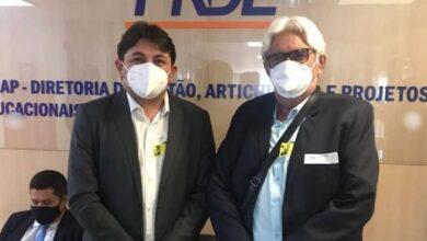 Paulo Braz BSB 390x220 - Durante agenda em Brasília, Prefeito Paulo Braz visita o FNDE em busca de novos recursos para a educação do Município de Poço José de Moura.