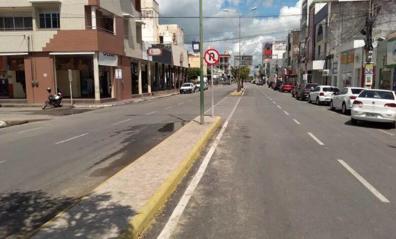 SOUSA CENTRO 780x470 - Para conter covid-19, MPPB recomenda lockdown de 07 dias em Sousa e mais 11 municípios; VEJA