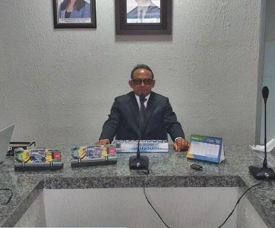 VANDO - Presidente da Câmara de Vieirópolis apresenta requerimento pedindo testagem em massa na população vieiropolense para covid-19.