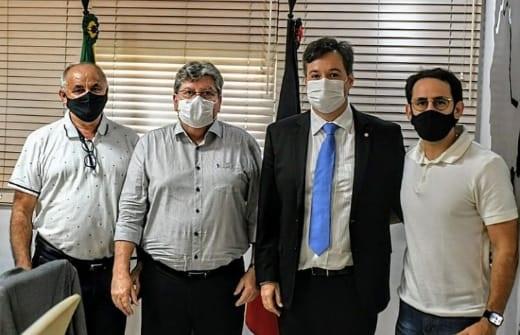 athaide jp - Prefeito Dr. Athaíde Diniz se reúne com Governador João Azevedo e anuncia diversos pleitos para o município de Lastro