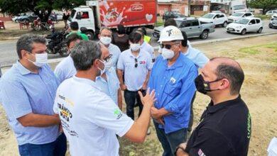 ciceron 390x220 - Prefeito de João Pessoa vistoria início das obras de requalificação na Avenida Hilton Souto Maior