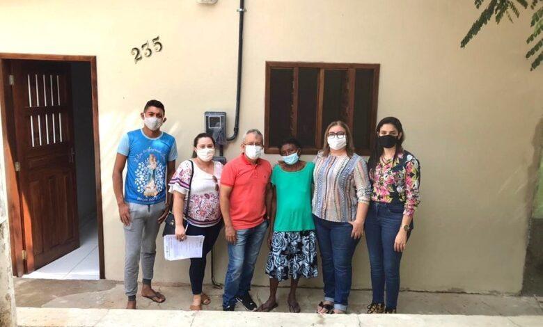 ms casas 780x470 - NO RN: Prefeitura de Major Sales realiza a entrega de novas casas do Programa de melhoria habitacionais para o controle da doença de chagas