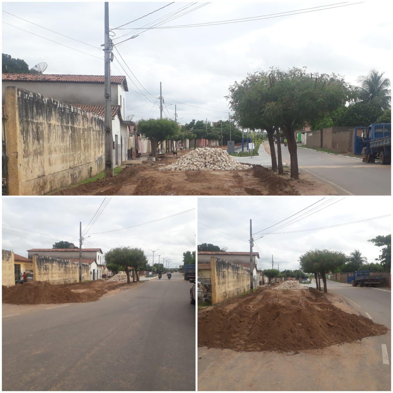 pavimentacao2 - Novas ações: Prefeitura de São João do Rio do Peixe inicia nova etapa de pavimentação em ruas do município