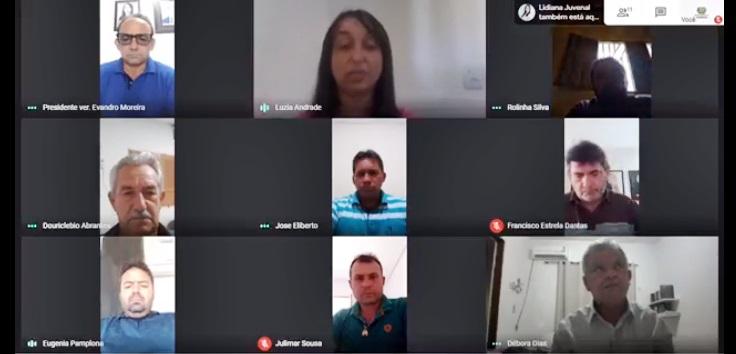 sessao remota vieiropolis - Câmara de Vieirópolis aprova projeto que visa estadualização de estrada da comunidade de Pompéia ao Campo Alegre; VEJA