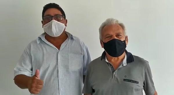 ze e muniz 1 - EM SÃO JOÃO DO RIO DO PEIXE: Além de tentar prejudicar funcionamento do hospital, vereador Muniz agora quer levar respiradores para Cajazeiras.