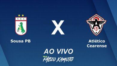 AO VIVO 390x220 - AO VIVO: Campeonato Brasileiro Série D Sousa x Atlético-CE