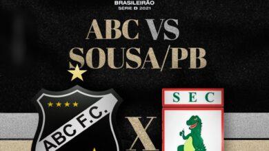 abc 390x220 - AO VIVO COM IMAGENS: Campeonato Brasileiro Série D : ABC x SOUSA