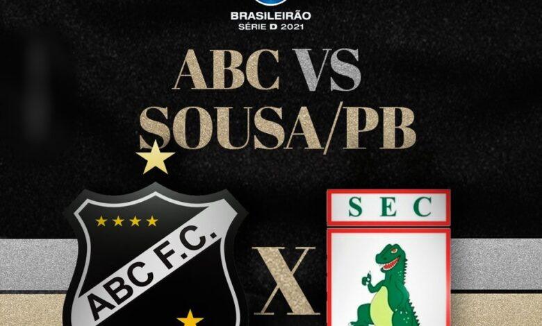 abc 780x470 - AO VIVO COM IMAGENS: Campeonato Brasileiro Série D : ABC x SOUSA