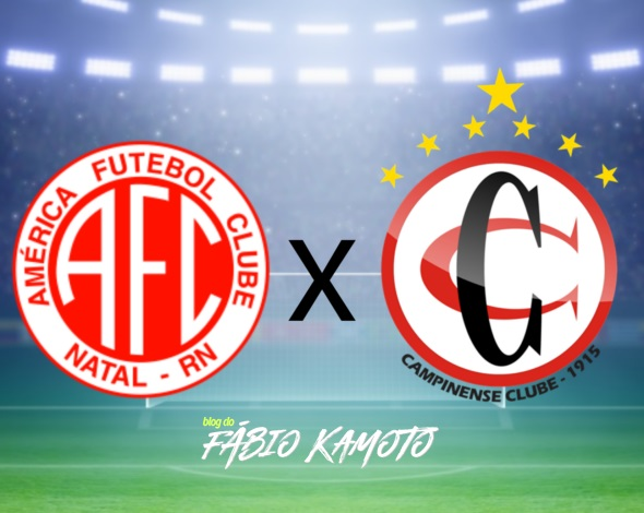 campinense - AO VIVO: Campeonato Brasileiro Série D : Campinense x América-RN