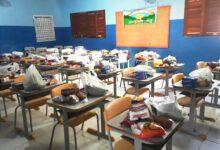 kit1 220x150 - Alunos da rede de ensino municipal de Aparecida recebem Kit Alimentação Escolar, benefício estar previsto durante período de pandemia.