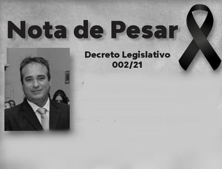 luto lastro - Câmara Municipal de Lastro emite Nota de Pesar pelo falecimento de irmão do ex-prefeito e decreta luto de 03 dias.