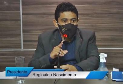 reginaldo - Poço José de Moura: Presidente da Câmara Dr. Reginaldo anuncia primeira parcela do 13º salário dos funcionários da Casa Legislativa