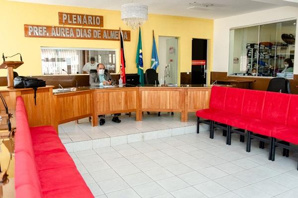 soares2 - Câmara de Bonito de Santa Fé entra em recesso parlamentar e retorno acontece no dia 01 de julho.