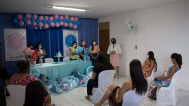01mae 390x220 - Poço José de Moura: Secretaria de Assistência Social entrega kit de enxoval para gestantes