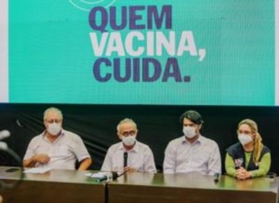 CICERO35 - JOÃO PESSOA : Prefeito anuncia vacinação para público 35+ a partir desta sexta em João Pessoa