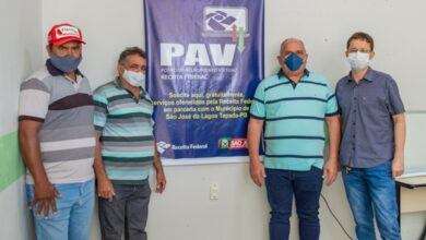 NOVAJULHO 390x220 - Receita Federal, em parceria com prefeitura de São José da Lagoa Tapada, instala ponto de atendimento virtual no município.