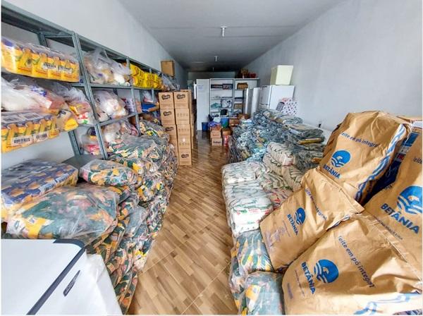 alimentos - MONTE HOREBE: Secretaria de Educação realizará entrega de nove toneladas de alimentos para alunos da rede municipal de educação