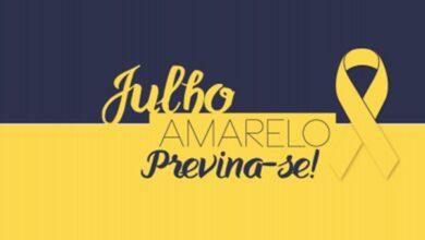 julho 390x220 - Secretaria Municipal de Saúde de Uiraúna adere a campanha ''Julho Amarelo'' na prevenção e controle das hepatites virais.