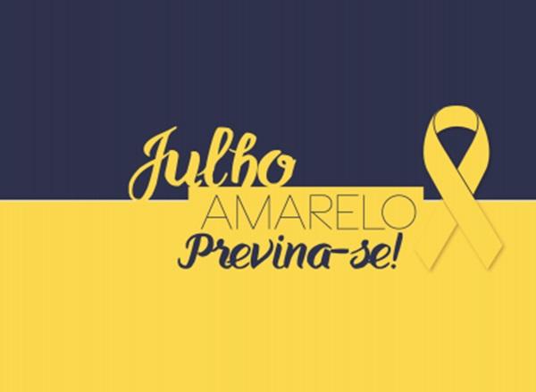 julho - Secretaria Municipal de Saúde de Uiraúna adere a campanha ''Julho Amarelo'' na prevenção e controle das hepatites virais.