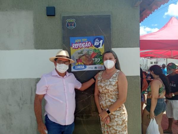 luiz2 - TÁ NA MESA: Programa alimentar que fornece almoço a 1 real começa a funcionar em São João do Rio do Peixe