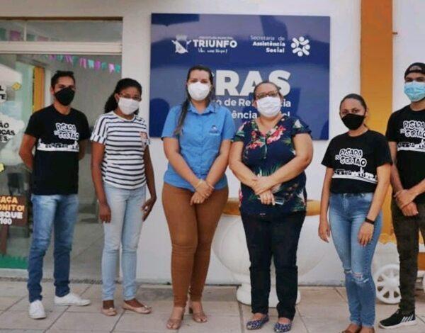 rota 600x470 - SOLIDARIEDADE: Secretaria de Assistência Social e Associação Pisada do Sertão distribuem cestas básicas em Triunfo
