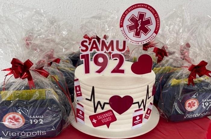 samu2 - EM VIEIRÓPOLIS: Profissionais do SAMU recebem novos uniformes; VEJA.
