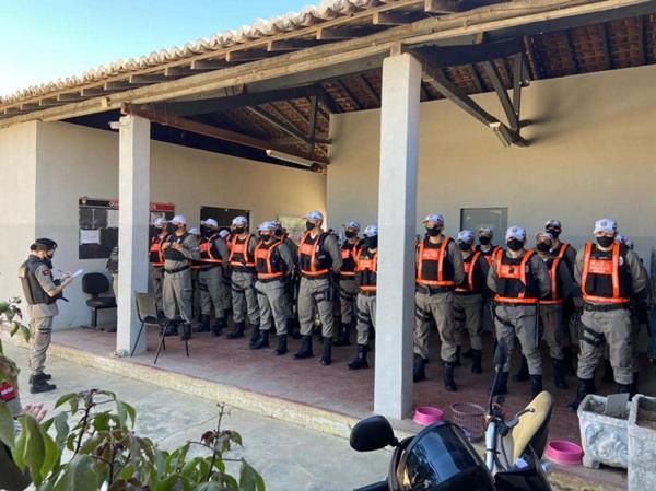 sousa pms - EM SOUSA: 14º Batalhão de polícia recebe reforço no efetivo operacional