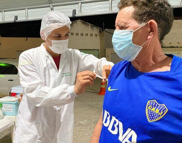vacinacao 600x470 - Patos reforça chamado para pessoas no prazo ou em atraso para segunda dose contra covid