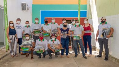 SAO JOSE 390x220 - Secretaria de Saúde de São José da Lagoa Tapada realiza entrega de fardamentos para agentes ACE e Vigilâncias Ambiental, Sanitária e Epidemiológica.