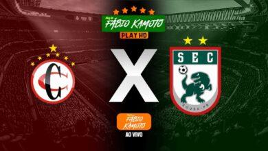 campinense x sousa 390x220 - AO VIVO COM IMAGENS: Campeonato Brasileiro Série D : Campinense x Sousa