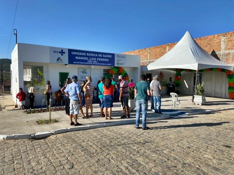 G2 - Nos 93 anos de Belo Jardim, prefeito Gilvandro Estrela inaugura duas unidades de saúde no aniversário da cidade