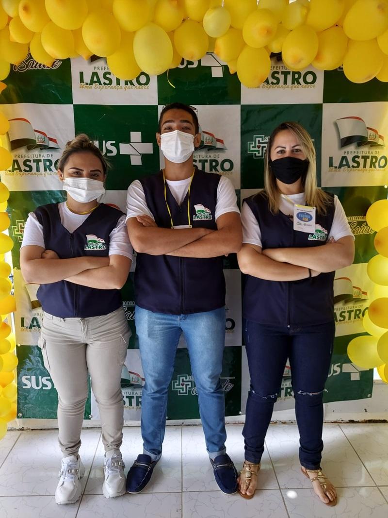 """LASTROD2 - Prefeitura de Lastro realiza com sucesso """"Dia D"""" de vacinação 18+ contra a Covid-19"""