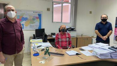 ceninha 390x220 - Ceninha Lucena se reúne com Secretário de Saúde Dr. Geraldo Medeiros e pleiteia recursos para saúde de Bonito de Santa Fé.