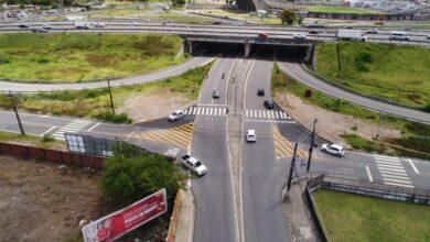 jpgiradouro 390x220 - Mais mobilidade: Condutores agradecem Prefeitura após mudanças no trânsito em vias do entorno do viaduto do Geisel em João Pessoa