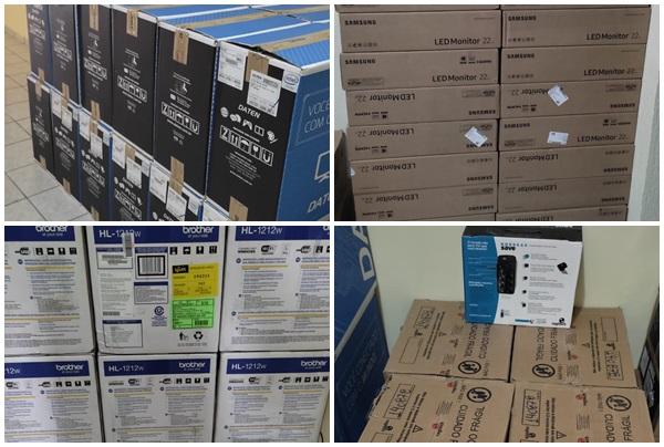 page PC - Prefeitura de Nazarezinho investe mais de R$ 100 mil reais em equipamentos de informática para a saúde, se moderniza e população se beneficia com novos serviços