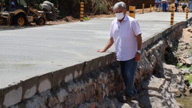 ponte pombal2 390x220 - Prefeitura de Pombal conclui obra de recuperação em ponte sobre o Rio Piranhas na Comunidade São João.