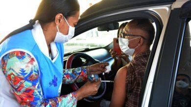 vacinajp 2 390x220 - Prefeitura vacina o público 18+ sem comorbidades e aplica terceira dose em idosos 74+